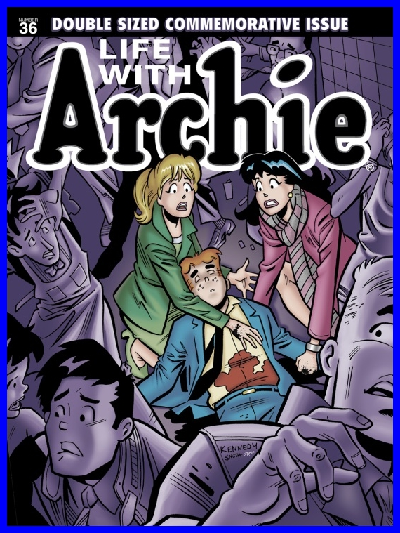 Life With Archie Comic # 36 - The Death of Archie